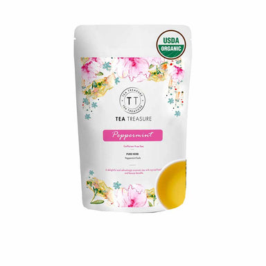 Vanity Wagon | Buy TeaTreasure Organic Peppermint, Herbal Tea