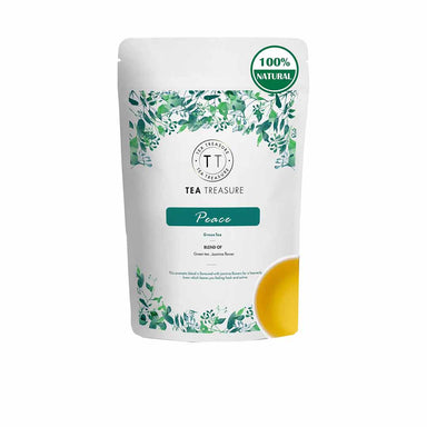 Vanity Wagon | Buy TeaTreasure Peace, Jasmine Green Tea for Weight Loss