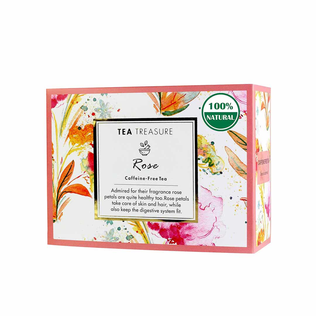 Vanity Wagon | Buy TeaTreasure Rose, Caffeine-Free Tea