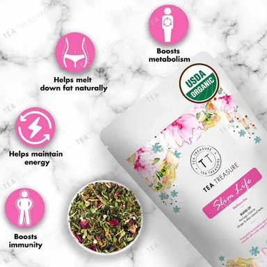 Vanity Wagon | Buy TeaTreasure Slim Life, Wellness Tea for Weight Loss