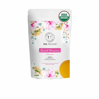 Vanity Wagon | Buy TeaTreasure Sweet Dreams, Caffeine Free Herbal Tea