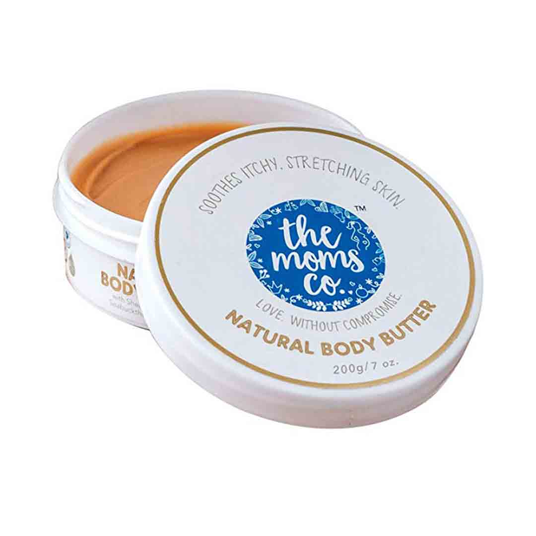 The Mom's Co. Natural Body Butter with Sea Bucthorn, Cocoa and Shea Butter