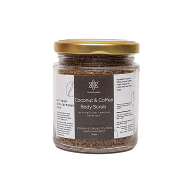 Vanity Wagon | Buy The  Coconut People Coconut & Coffee Body Scrub