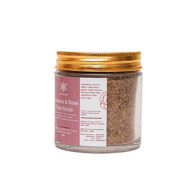 Vanity Wagon | Buy The  Coconut People Coconut & Rose Face Scrub