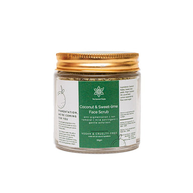 Vanity Wagon | Buy The  Coconut People Coconut & Sweet Lime Face Scrub