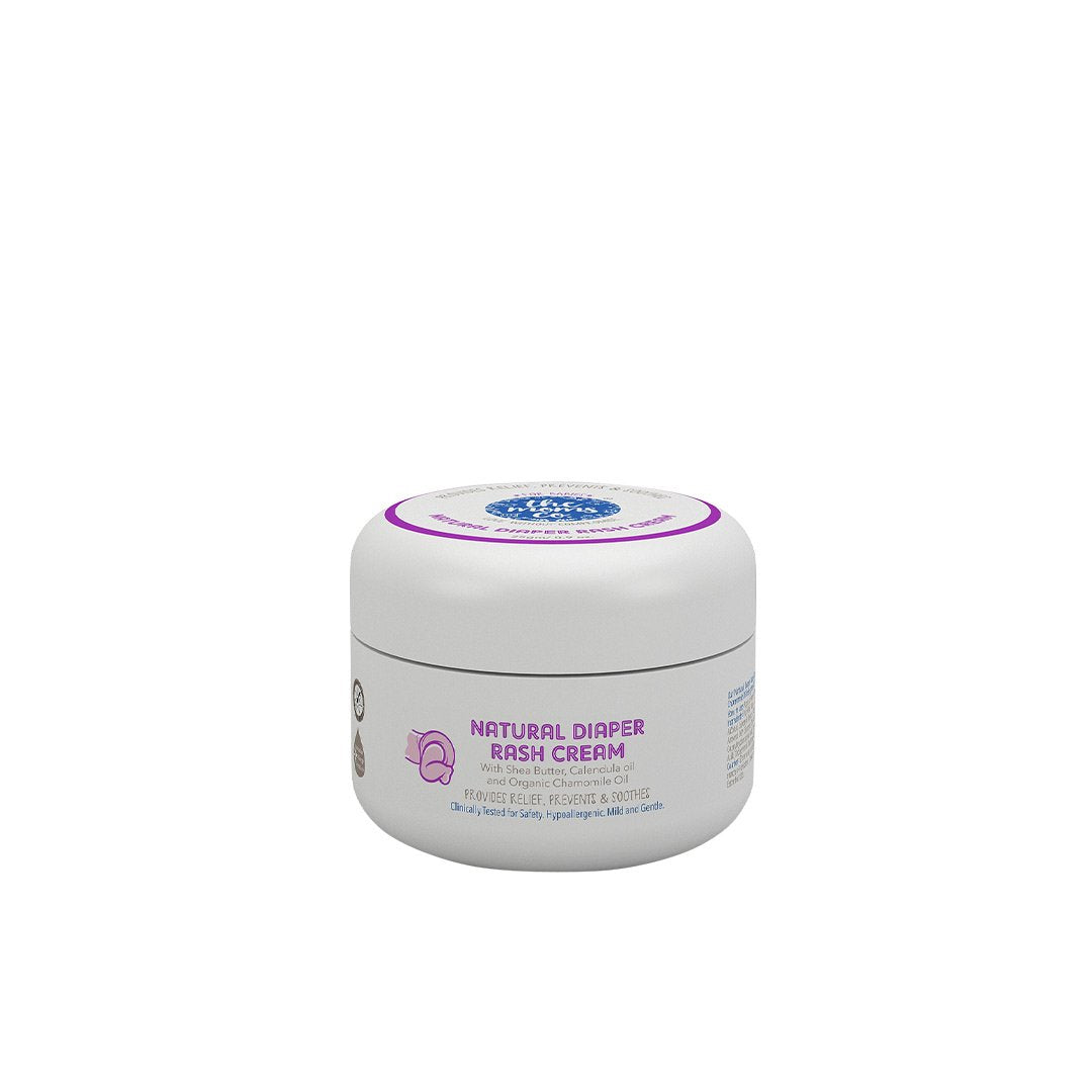 The Mom's Co. Natural Diaper Rash Cream with Shea Butter, Calendula and Chamomile Oil -1