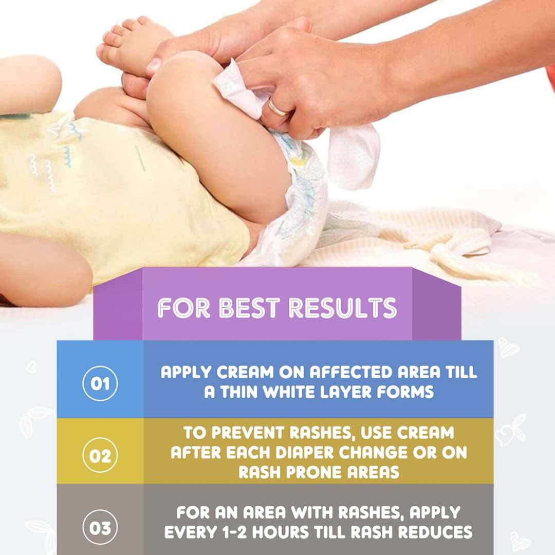 The Mom's Co. Natural Diaper Rash Cream with Shea Butter, Calendula and Chamomile Oil -2