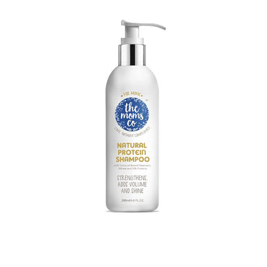 The Mom's Co. Natural Protein Shampoo with Coconut, Wheat and Silk Proteins