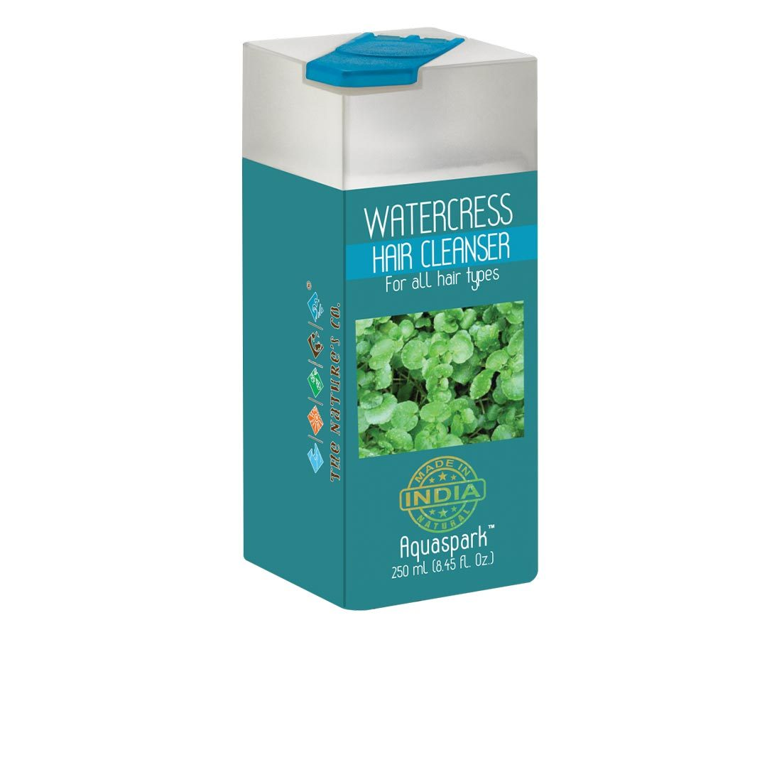 The Nature's Co. Aquaspark, Watercress Hair Cleanser for All Hair Types