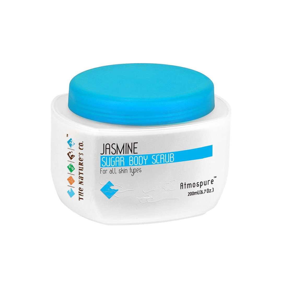 The Nature's Co. Atmospure, Jasmine Sugar Body Scrub for All Skin Types