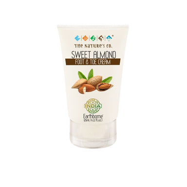 The Nature's Co. Earthborne, Sweet Almond Foot and Toe Cream