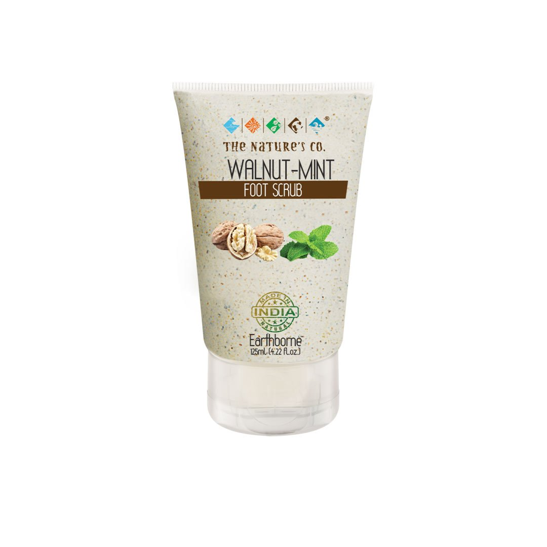 The Nature's Co. Earthborne, Walnut-Mint Foot Scrub