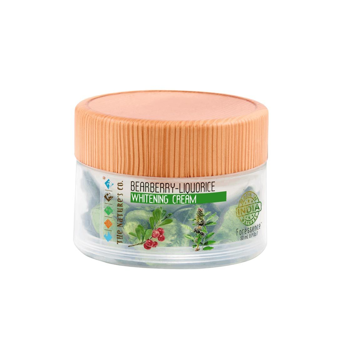 The Nature's Co. Foressence, Bearberry - Liquorice Whitening Cream