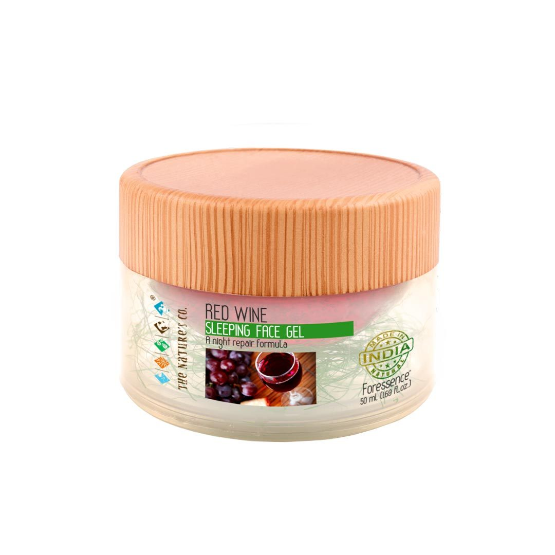 The Nature's Co. Foressence, Red Wine Sleeping Face Gel