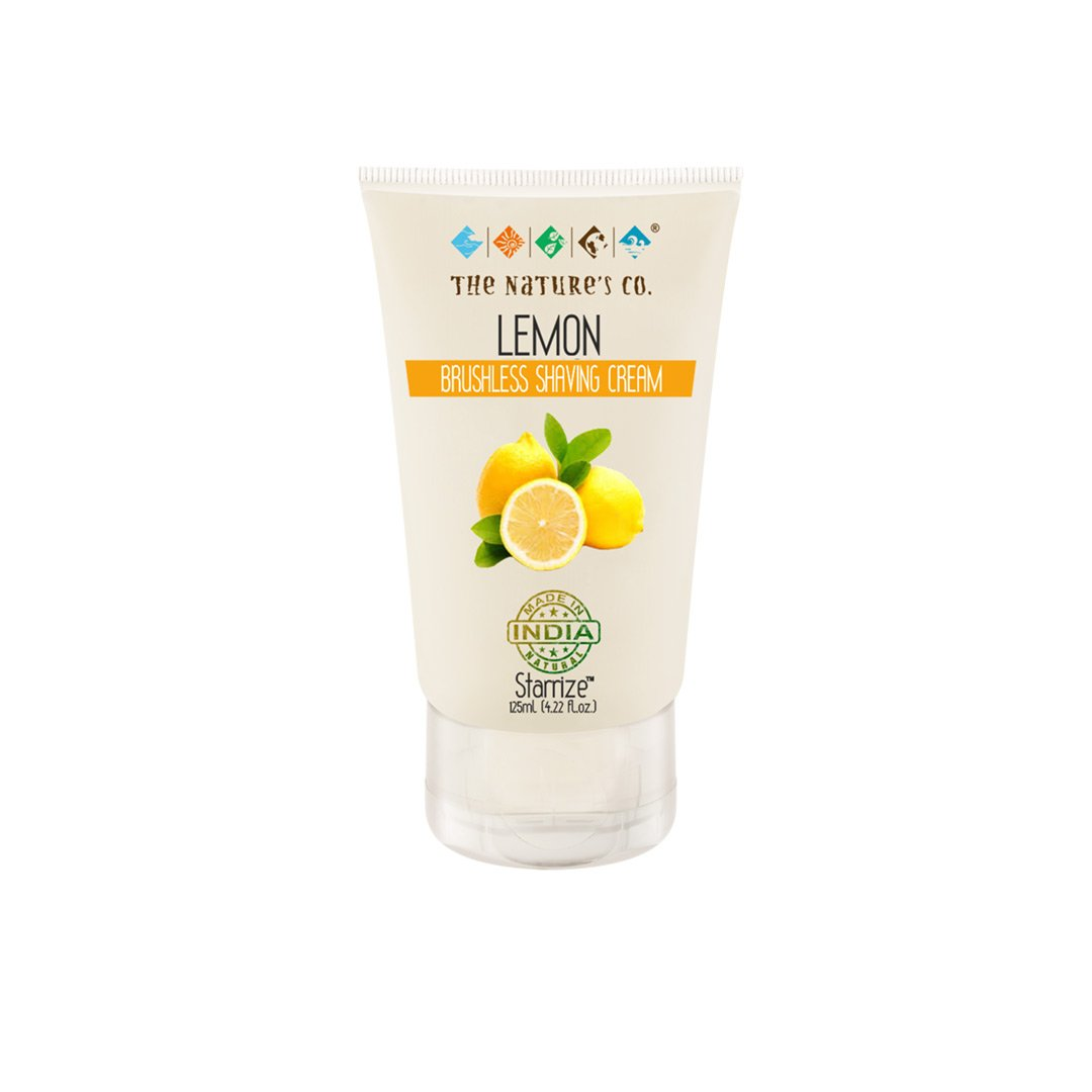 The Nature's Co. Starrise, Lemon Brushless Shaving Cream