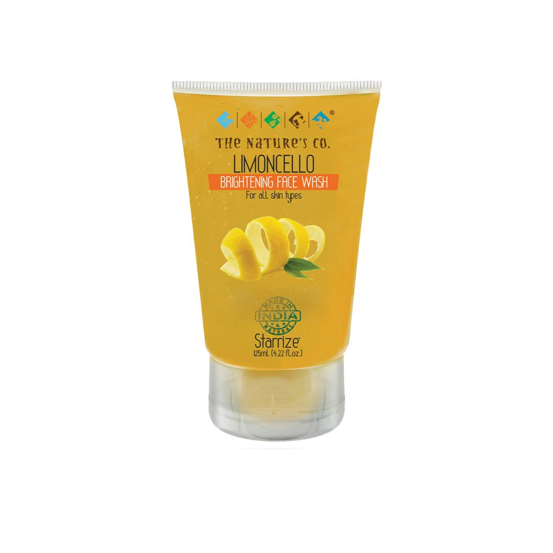 The Nature's Co. Starrize, Limoncello Brightening Face Wash for All Skin Types
