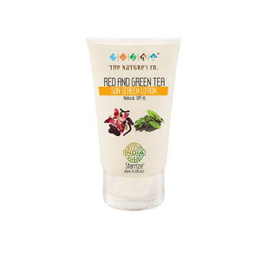 The Nature's Co. Starrize, Red and Green Tea Sunscreen Lotion with SPF 15