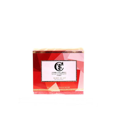 The Soap Company India Berry Blast Beauty Bar with Strawberry, Milk, Jojoba and Almond Oil -1