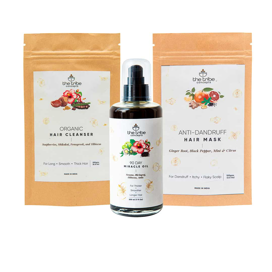Vanity Wagon | Buy The Tribe Concepts Anti-Dandruff Treatment Kit