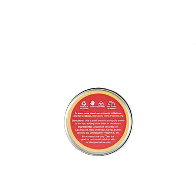 Vanity Wagon | Buy TreeWear Beeswax Lip Balm, Grapefruit