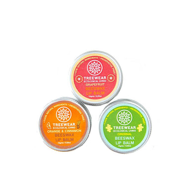 Vanity Wagon | Buy TreeWear Beeswax Lip Balm, Pack of 3