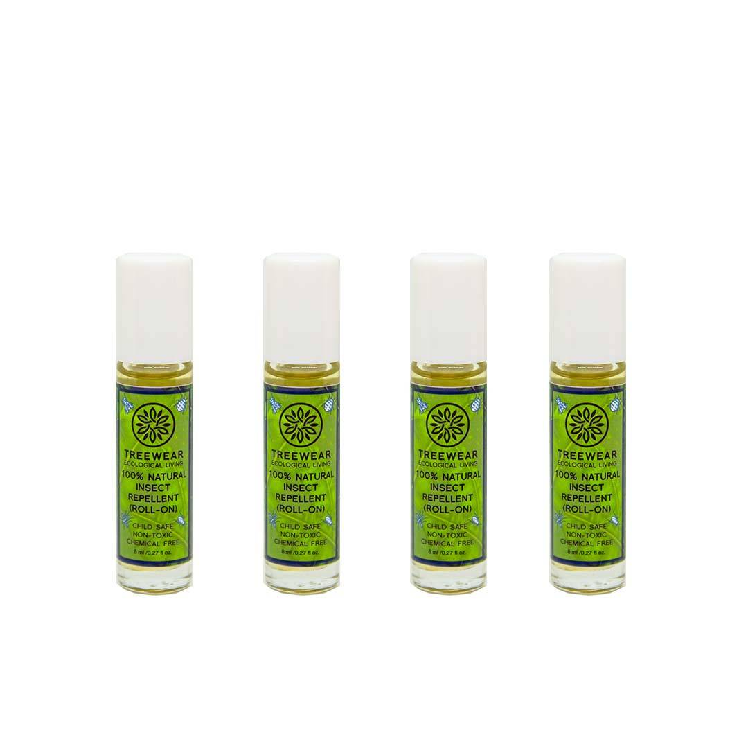 Vanity Wagon | Buy TreeWear Insect Repellent Roll On, Pack of 4
