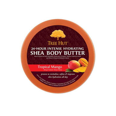 Vanity Wagon | Buy Tree Hut 24 Hour Intense Hydrating Shea Body Butter with Tropical Mango