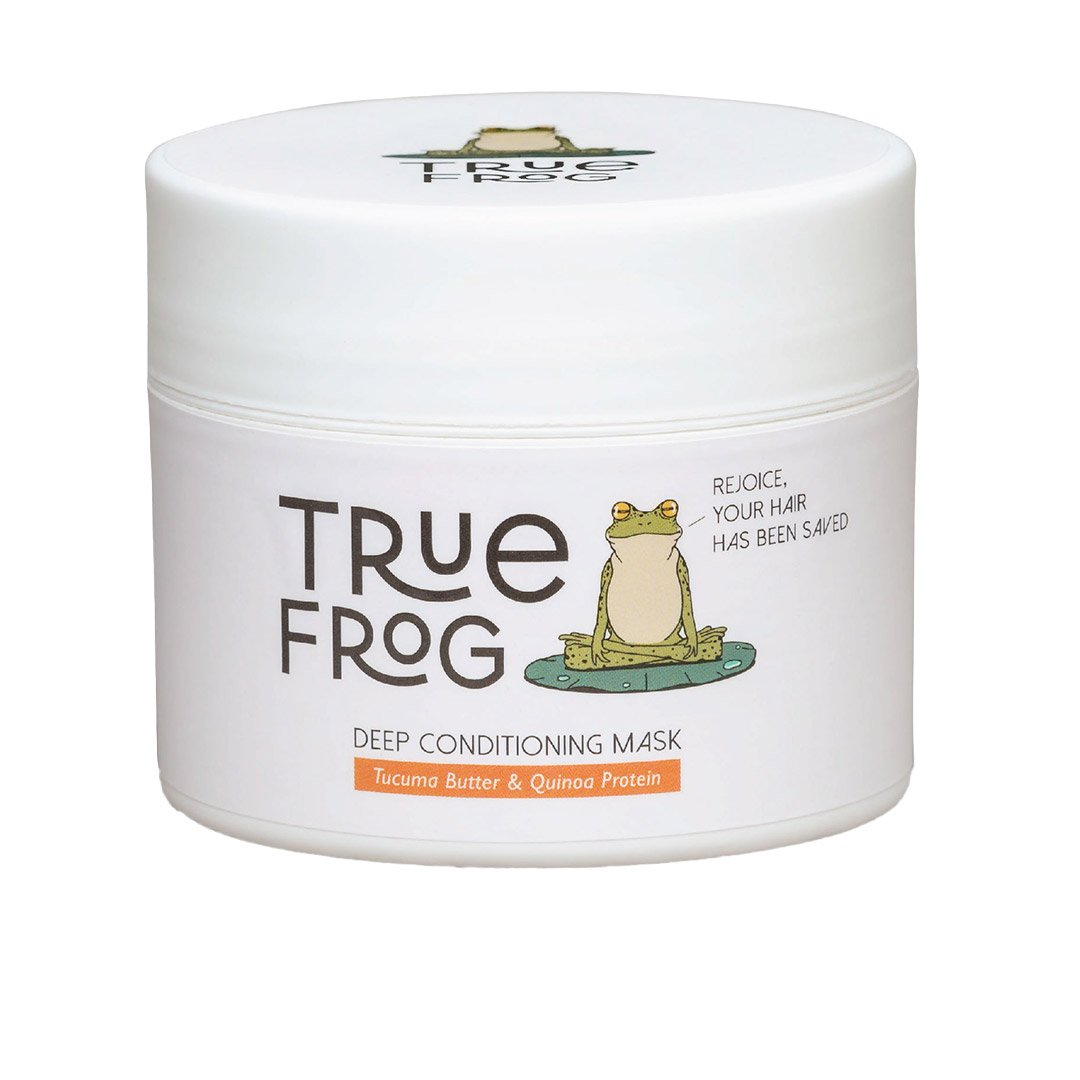 Vanity Wagon | Buy True Frog Deep Conditioning Mask with Tucuma Butter &  Quinoa Protein