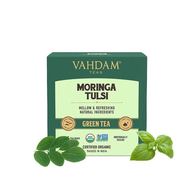 Vanity Wagon | Buy Vahdam Moringa Tulsi Green Tea