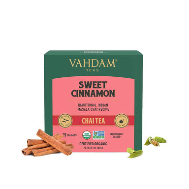 Vanity Wagon | Buy Vahdam Sweet Cinnamon Masala Chai Tea