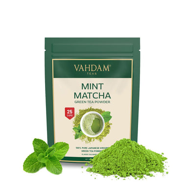 Vanity Wagon | Buy Vahdam Teas Mint Matcha Green Tea