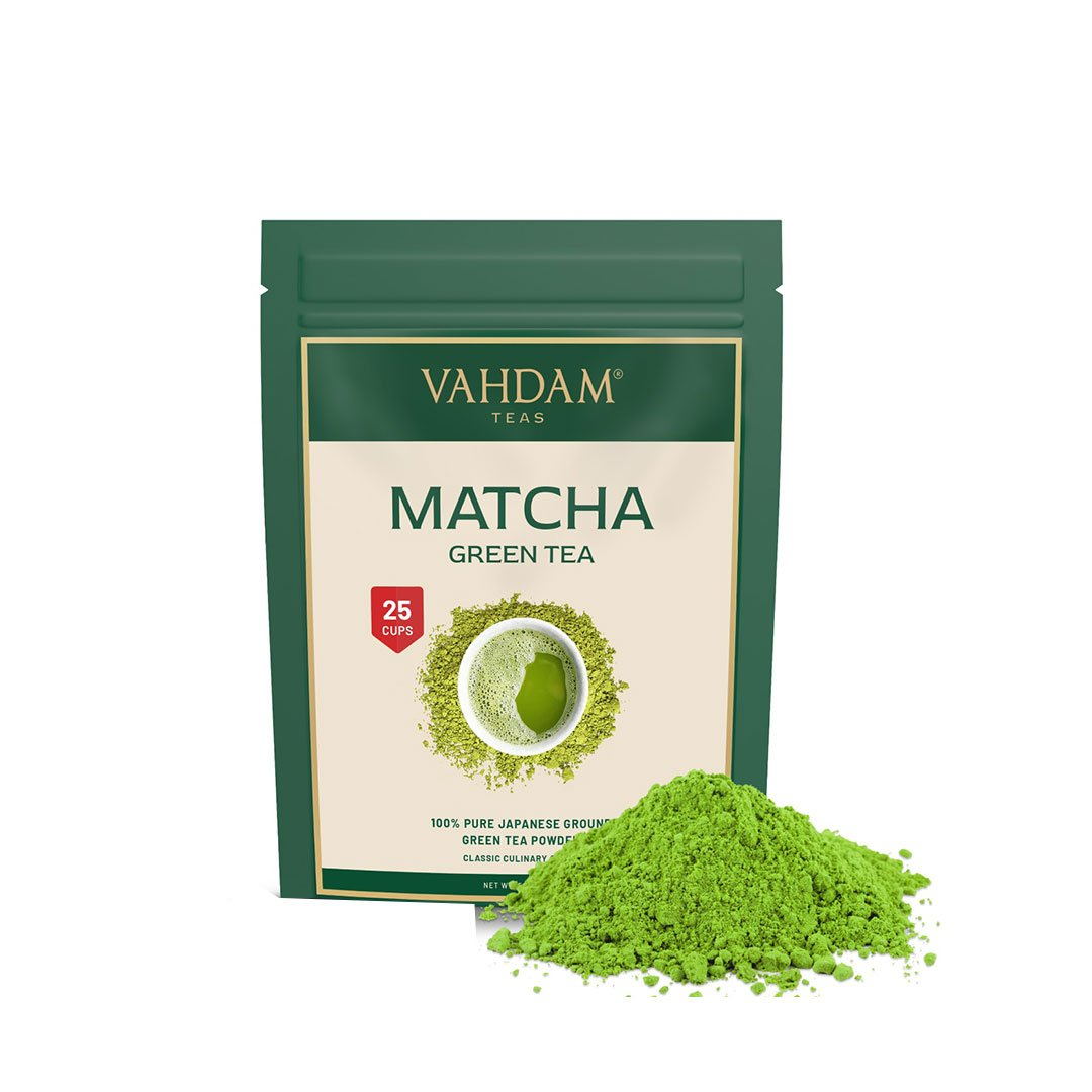 Vanity Wagon | Buy Vahdam Teas Pure Matcha Green Tea