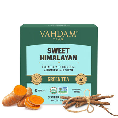 Vanity Wagon | Buy Vahdam Teas Sweet Himalayan Green Tea