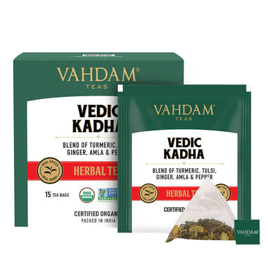 Vanity Wagon | Buy Vahdam Teas Vedic Kadha Herbal Tea