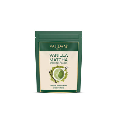 Vanity Wagon | Buy Vahdam Vanilla Matcha Superfood Green Tea