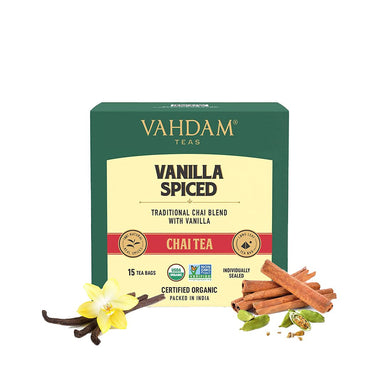Vanity Wagon | Buy Vahdam Vanilla Spiced Chai Tea