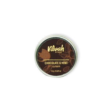 Vilvah Store Chocolate and Mint, Lip Balm