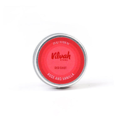 Vilvah Store Deo Shot, Rose and Vanilla
