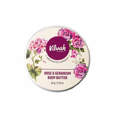Vanity Wagon | Buy Vilvah Store Rose and Geranium Body Butter