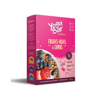 Yoga Bar Muesli with Fruits, Nuts and Seeds - Front View