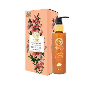 Vanity Wagon | Buy Naija Organic Saffron & Lemon Skin Reviving Face Wash