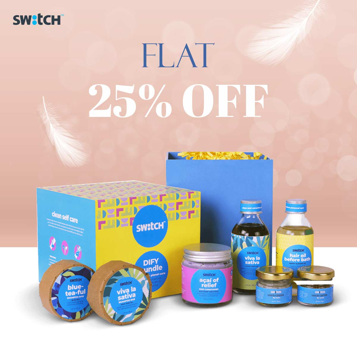 Flat 25% Off on The Switch Fix