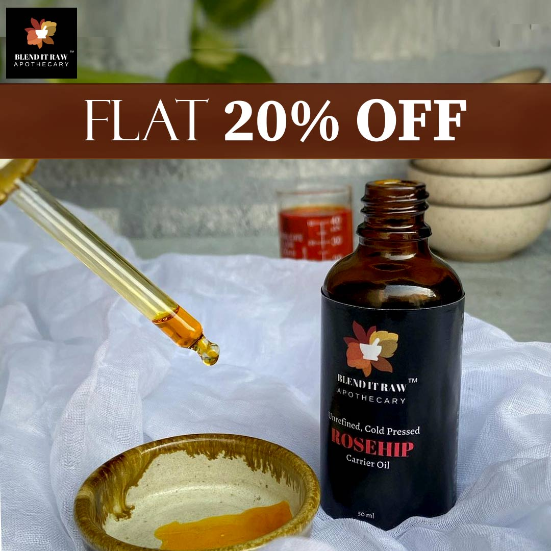 Shop Blend It Raw Apothecary at Flat 20% Off