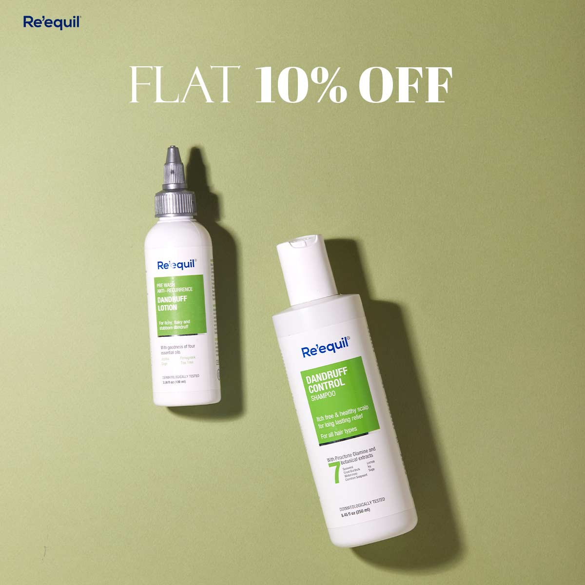 Shop Re'equil at Flat 10% Off