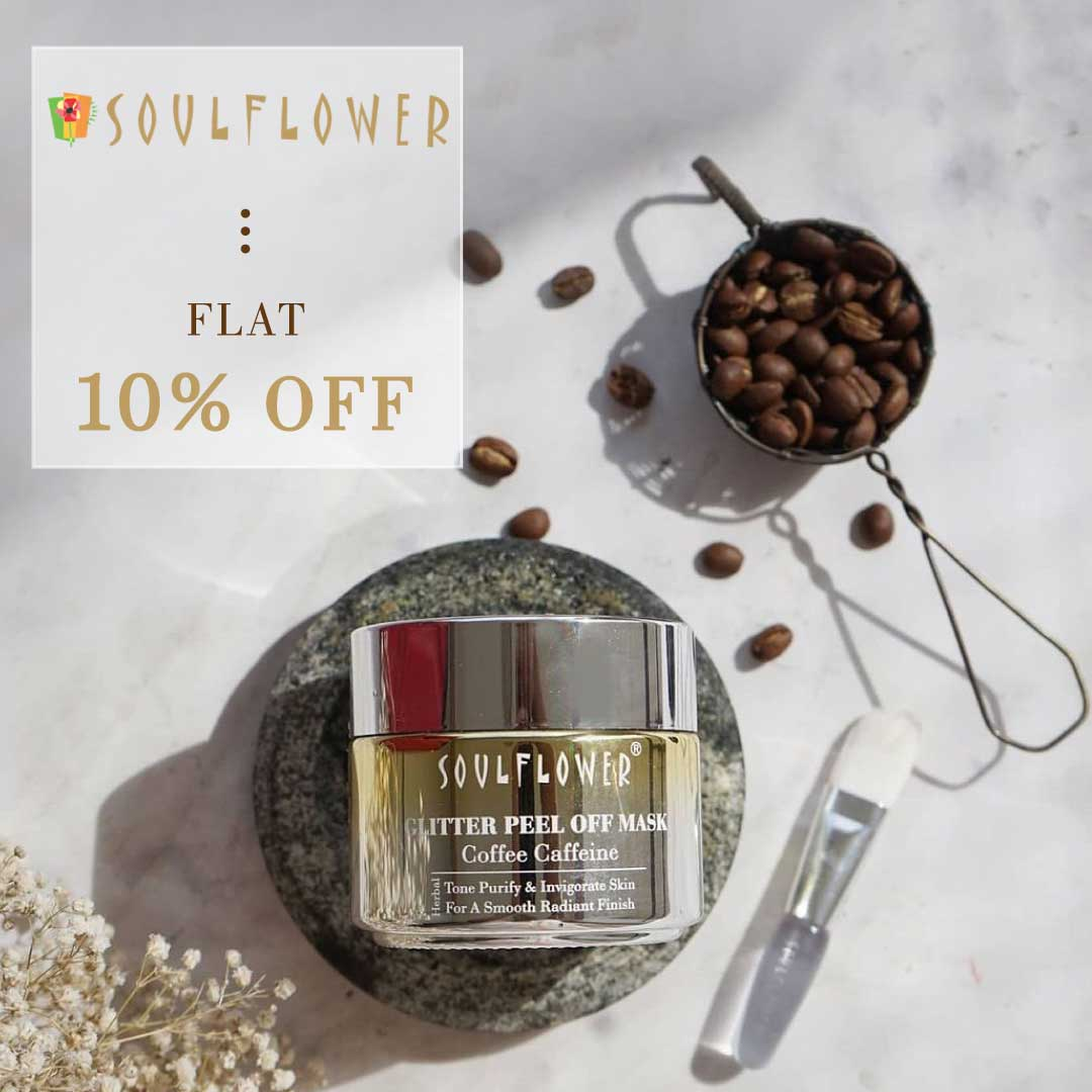 Flat 10% Off on Soulflower