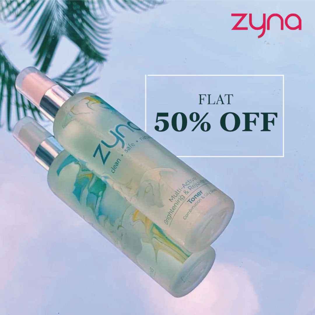 Shop Zyna at Flat 50% Off