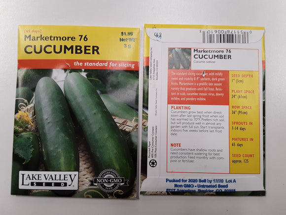 CUCUMBER MARKETMORE 76