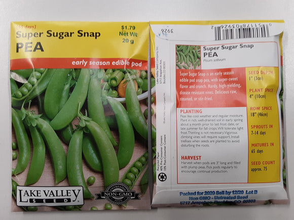 Pea - Super Sugar Snap
