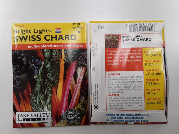 Swiss Chard - Bright Lights