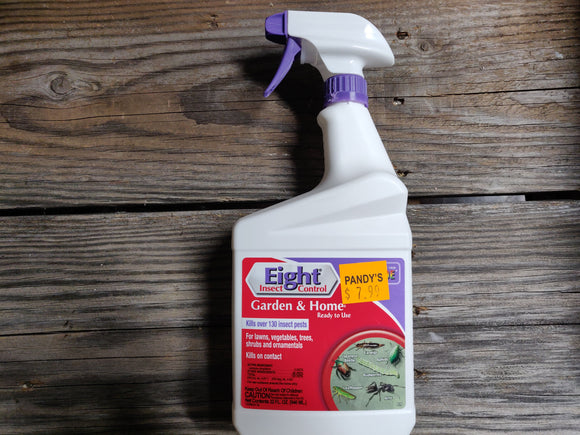 Eight Insect Control - Garden & Home